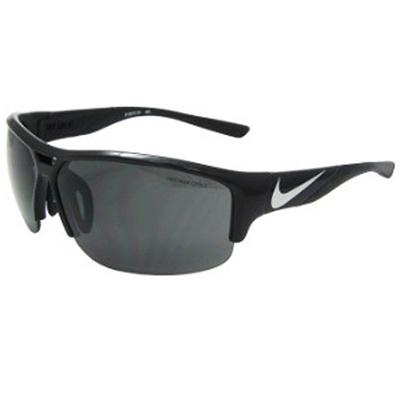 ナイキ(NIKE) サングラス ゴルフ GOLF X2 EV0870-001 25311 ブラック/メタリックシルバー グレーレンズ 【ランニング ゴルフ サイクリング フィッシング スポーツ】の画像