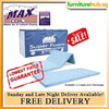 MaxCoil Super Foam Foldable Mattress. Available in SINGLE/SUPER SINGLE sizes and 3 thickness !!!