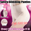 [BEST IN THE MARKET] Safety Slimming Panties ♥ Hip up ♥ Slimming your Tummy ♥ Tighten ♥ Breathable Seamless ♥ Sexy Panties for Lady Stretchable ♥ Build Your S Curve Instantly ♥ Slimming Corset