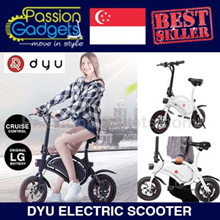 LTA Approved ★100% Authentic★Authorized Seller DYU Electric Scooter Mini Electric Bike Bicycl