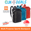 Xiaomi Multi Purpose Sports Backpack / Lightweight / 3 Styles / Large Capacity / Water Resistant