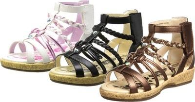 (A倉庫)【OSH KOSH】 オシュコシュ OSK C351 子供サンダル 女の子 キッズ 子供靴 カジュアル サンダル グラディエーターサンダル キッズサンダルの画像