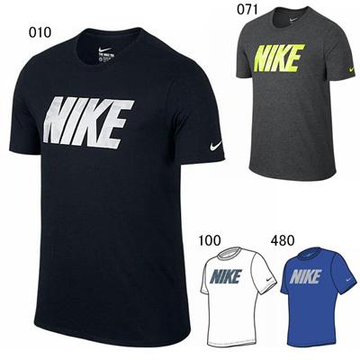 ナイキ (NIKE) DRI-FIT ブレンドブロック シャッタード Tシャツ 702760 [分類:Tシャツ (メンズ・ユニセックス)]の画像