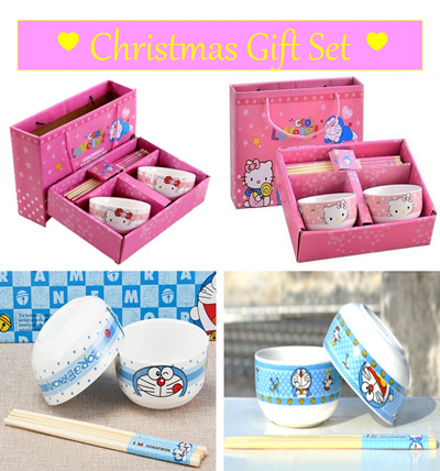 Qoo10 hello kitty doraemon tableware set ceramic for Qoo10 kitchen set