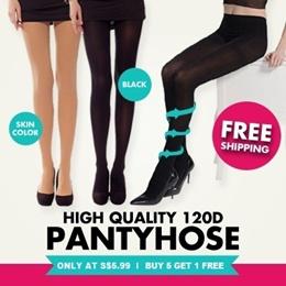 Langsha 120D velvet Pantyhose /stockings /Fishnet tights / Stovepipe socks / anti-snagging / tight/