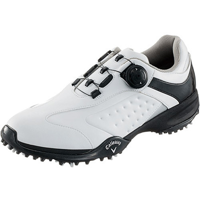 キャロウェイ(Callaway) ツアースタイル スポーツ LS 15 JM ゴルフ スパイク WHT/SLV 【メンズ 靴 シューズ】の画像