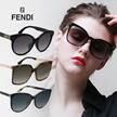 [HOT PRICE] Fendi Unisex Sunglasses 100% Authentic Free shipping UV protection Polarized EYESYS