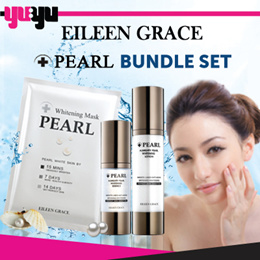 [Eileen Grace] Almighty Pearl Whitening Bundle Set ♥ Smoothen Skin Fine Lines ♥ Improve Skin
