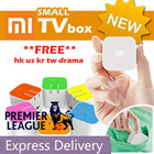1 yr warranty  Attractive GIFT  4th Gen mini XIAOMI TV box free latest hk us kr tw drama hob national geo astro malay indian thai android tv box