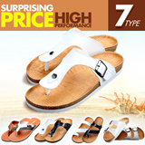 TIME SALE▶▶LIMITED▶▶HIGH QUALITY & BREATHABLE▶Men's flip-flops collection/ 2015 summer new arrival/ unisex wear/ beach leather sandals/ optional colors and types/ slippers/ casual/ male/ female【M18】