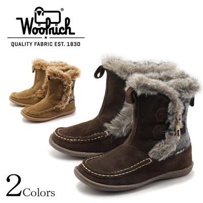 ウールリッチ WOOLRICH ドォ クリーク Doe Creek ボア ブーツ カジュアル 天然皮革 レディースの画像