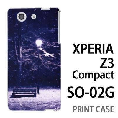 XPERIA Z3 Compact SO-02G 用『1218 孤独な夜』特殊印刷ケース【 xperia z3 compact so-02g so02g SO02G xperiaz3 エクスペリア エクスペリアz3 コンパクト docomo ケース プリント カバー スマホケース スマホカバー】の画像