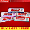 [Colgate Official E-Store]【BUY 1 GET 1 FREE!】Colgate Sensitive Pro Relief Toothpaste Range - [Base 110g] [Whitening 110g] [Complete Protection 110g] [Enamel Repair 110g] [Repair and Prevent 114g]