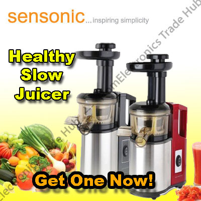 100 Gourmet Recipes For The Slow Juicer : Qoo10 - Sensonic 100% Healthy Slow Juicer!!! : Home ...