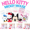 HELLO KITTY MICKEY MOUSE SOCKS ★Free gift Event★[5+1 / 10+2 / 20+4 ]2016 New Korean Best selling socks Unisex Cool Characteristic Colorful Socks Stockings Loafer  Socksense