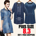 [29 JULY UPDATE] High Quality Fashion Style Plus Size Dress/Blouse/Suit