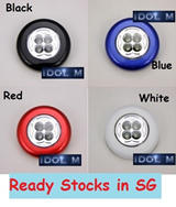 [Normal mailing with Track] Stick and Click Tap touch LED  Light/ Lamp / LED