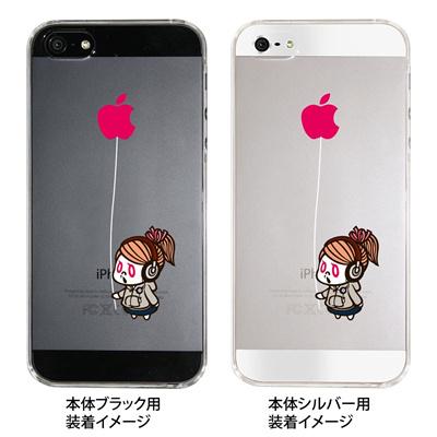 【iPhone5S】【iPhone5】【iPhone5ケース】【カバー】【スマホケース】【クリアケース】【マシュマロキングス】【キャラクター】 ip5-23-mk0017の画像