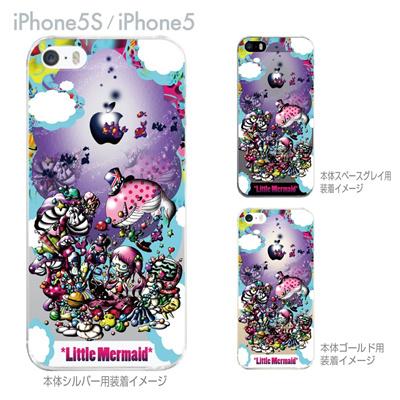 【iPhone5S】【iPhone5】【Little World】【iPhone5ケース】【カバー】【スマホケース】【クリアケース】【人魚姫】 25-ip5s-am0037の画像