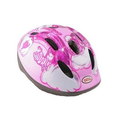 ベル(BELL) ZOOM/ズーム ヘルメット 自転車 サイクリング KIDS&YOUTH キッズ ピンクレインボーアニマル XS/S 48-54 2013874 【子供 安全 スケート 女の子 男の子】の画像