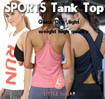 [little sugar]sports vest yoga vest tank top running wear quick dry premium quality