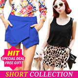 ★1 Day Hot Sale $6.9+Free gift 러블리 반바지★HOT ITEM 2015 S/S collection Women Shorts★ S~XL Hot pants/Leopard Shorts/Short Pants/Vivid Color Shorts