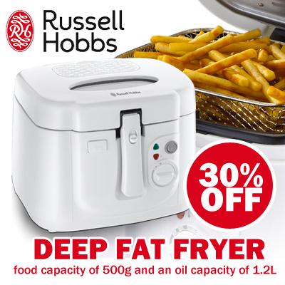 qoo10 russell hobbs deep fryer food 500g oil capacity. Black Bedroom Furniture Sets. Home Design Ideas