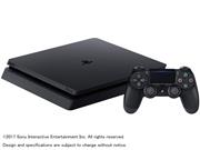 【PS4】 プレイステーション4本体 (ジェット・ブラック)500GB(N)  CUH-2100AB01