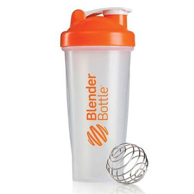 ブレンダーボトル(Blender Bottle) クラシッククリア Classic Clear 28オンス(800ml) オレンジ GEX BBCL28 OR 【シェーカー サプリメント プロテイン ミキサー スクイズボトル】の画像