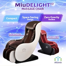 ☆☆Best SELLER PROMO☆☆Miuvo MiuDelight V2 Massage Chair ★ Massage Sofa ★ FULL onsite Warranty Service