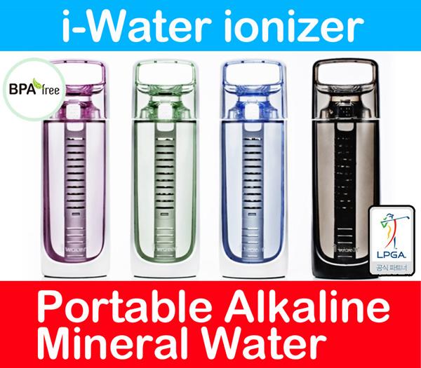 Buy Made In Korea New IWATER Portable Alkaline Water Stick Ion - Alkaline water bottle