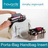 Howards Storage World - Porta-Bag Handbag Inserts