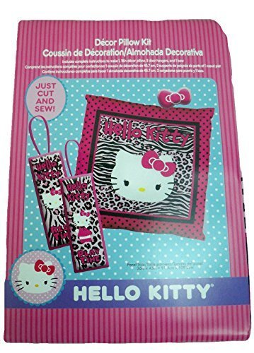 Qoo10 - Springs Creative Hello Kitty 18 Decorative Pillow Panel Zebra Kit : Household & Bedding