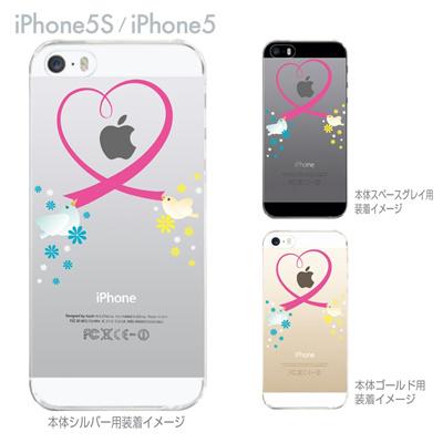 【iPhone5S】【iPhone5】【iPhone5sケース】【iPhone5ケース】【カバー】【スマホケース】【クリアケース】【クリアーアーツ】【ハート】 09-ip5s-th0009の画像