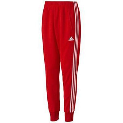 アディダス(adidas) M adidas24/7 アイコニック ウォームアップパンツ ADJ KBY22 S92664 スカーレット/ホワイト 【メンズ ジャージ トレーニングウェア パンツ】の画像