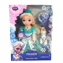 STAR BUY! $8.75 ONLY! CHRISTMAS SALE UNTIL 31 DECEMBER! Frozen Dolls **Anna/Elsa Dolls** Flashing Light FROZEN Snow Glow ELSA DOLL AND OLAF.