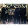 世界の名画シリーズ、プリハード複製画 モーリス・ドニ作 「セザンヌ礼賛」