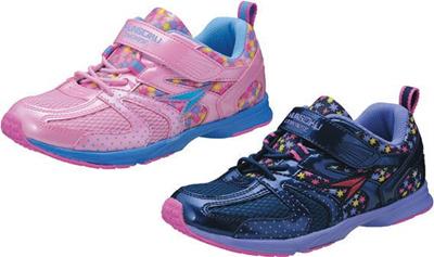 (A倉庫)瞬足レモンパイ 160 LEJ1600 子供靴 スニーカー 女の子 キッズ ジュニア シューズ 靴 女の子 おんなのこ シュンソク kids sneakerの画像