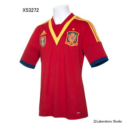 アディダス (adidas) スペイン代表 ホームレプリカ ジャージーS/S TV115 [分類:サッカー レプリカウェア (海外代表・海外クラブチーム)] 送料無料の画像