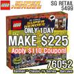 [MAKE $225!! FREE SHIPPING!] LEGO Super Heroes Batman Classic TV Series – Batcave 76052