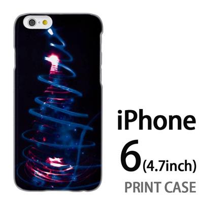 iPhone6 (4.7インチ) 用『1223 ネオンツリーライトアップ エメラルド』特殊印刷ケース【 iphone6 iphone アイフォン アイフォン6 au docomo softbank Apple ケース プリント カバー スマホケース スマホカバー 】の画像