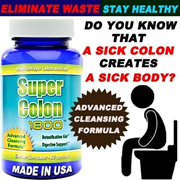 SUPER COLON CLEANSE 1800~~MAXIMUM BODY CLEANSING DETOX WEIGHT LOSS PILLS~Relieves Constipation~Unload all the toxic IN THE COLON! Healthy way to Detox Lose Weigh