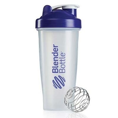 ブレンダーボトル(Blender Bottle) クラシッククリア Classic Clear 28オンス(800ml) パープル GEX BBCL28 PR 【シェーカー サプリメント プロテイン ミキサー スクイズボトル】の画像