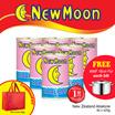[While Stocks Last!]   New Moon New Zealand Abalone (425g) {FREE 1x 16cm WMF High Casserole Pot} 6x ONE WHOLE PIECE New Zealand Wild Abalone