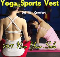 [Moving Peach] Chinese New year Sale !sports vest yoga vest tank top running wear quick dry premium quality