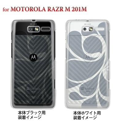 【MOTOROLA RAZR ケース】【201M】【Soft Bank】【カバー】【スマホケース】【クリアケース】【レトロ】 06-201m-ca0021iの画像