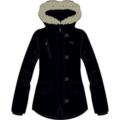 プーマ(PUMA) 中綿ジャケット 831020 01 ブラック 【レディース トレーニングウェア ランニング ブレーカー 防寒】の画像