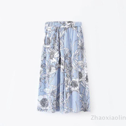 欧米風 ワイドパンツ スイート プリント 花柄 上質な生地 美しいデザインで品のある女性を演出! ベーシック