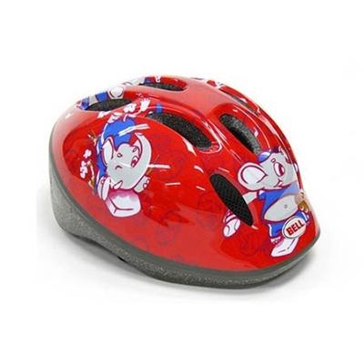 ベル(BELL) ZOOM/ズーム ヘルメット 自転車 サイクリング KIDS&YOUTH キッズ レッドエレファントベースボール XS/S 48-54 2013878 【子供 安全 スケート 女の子 男の子】の画像