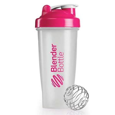 ブレンダーボトル(Blender Bottle) クラシッククリア Classic Clear 28オンス(800ml) ピンク GEX BBCL28 PK 【シェーカー サプリメント プロテイン ミキサー スクイズボトル】の画像